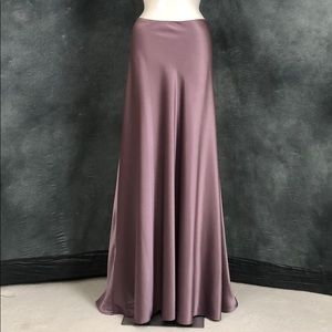 EUC JS Collections Lilac Satiny Formal Skirt sz 10